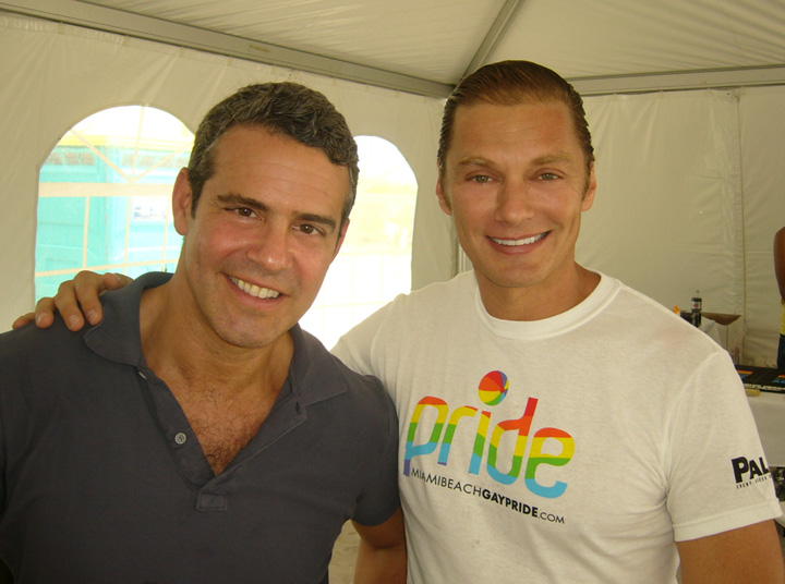 Andy Cohen and Edison Farrow